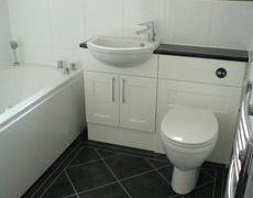 Example of our bathroom fitting services